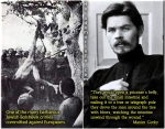 """Maxim Gorky """"They would open a prisoner's belly,%22"""